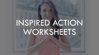 [WORKSHEETS] Shrink Session Inspired Action by The Movement