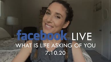 [FACEBOOK LIVE] What is Life Asking of You - 7/10/20 by The Movement