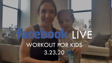 [FACEBOOK LIVE] Workout for Kids - 3/23/20 by The Movement
