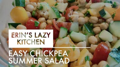 [LAZY KITCHEN] Easy Chickpea Summer Salad by The Movement