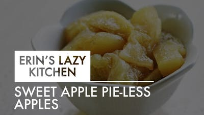 [LAZY KITCHEN] Sweet Apple Pie-Less Apples by The Movement