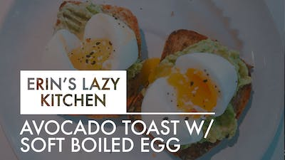 [LAZY KITCHEN] Avocado Toast w: Soft Boiled Egg by The Movement