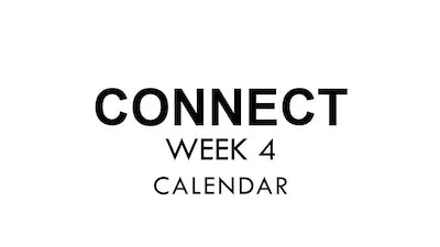 [CONNECT] Week 4 - Calendar by The Movement