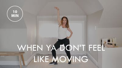 [ELEVATE] When Ya Don't Feel Like Moving (10 min) by The Movement