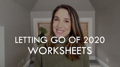 [WORKSHEETS] Letting Go of 2020 by The Movement