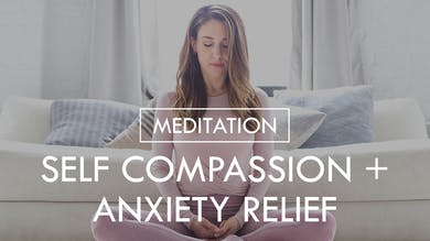 [MEDITATION] Self Compassion + Anxiety Relief by The Movement