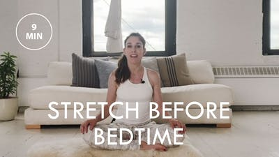 [EASE] Stretch Before Bedtime (9 min) by The Movement
