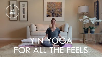 [EASE] Yin Yoga for All The Feels (24 min) by The Movement