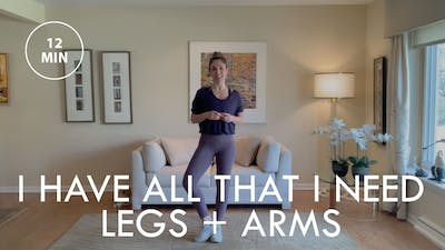 [ELEVATE] I Have All That I Need: Legs + Arms (12 min) by The Movement