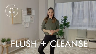 [ELEVATE] Flush + Cleanse (20 min) by The Movement