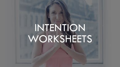 [WORKSHEETS] Shrink Session Intention by The Movement