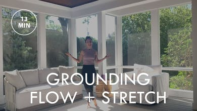 [EASE] Grounding Flow + Stretch (13 min) by The Movement