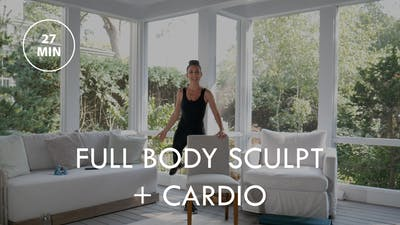 [ELEVATE] Full Body Sculpt + Cardio (27 min) by The Movement