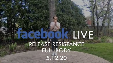 [FACEBOOK LIVE] Release Resistance : Full Body - 5/12/20 by The Movement