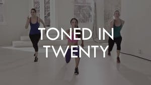 TONED IN TWENTY by The Movement