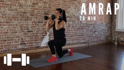 AMRAP FULL BODY 2.0 - EQUIP: DUMBBELLS - LEVEL: ADVANCED by Elise's Bodyshop