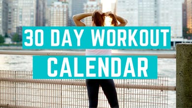 30 DAY WORKOUT CALENDAR by Elise's Bodyshop