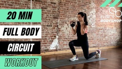 FULL BODY CIRCUIT 2.0 - EQUIP: DUMBBELLS - LEVEL: INTERMEDIATE by Elise's Bodyshop