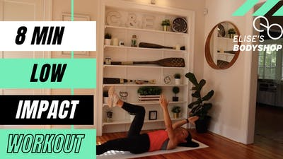 LIVE 8 MIN FULL BODY LOW IMPACT MOVEMENT - EQUIP: BODYWEIGHT - LEVEL: BEGINNER by Elise's Bodyshop