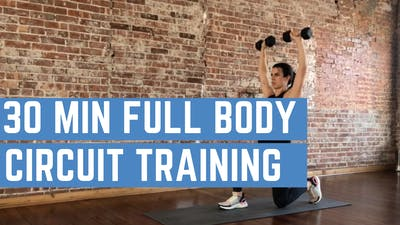 FULL BODY CIRCUIT 1.0 - EQUIP: DUMBBELLS - LEVEL: INTERMEDIATE by Elise's Bodyshop