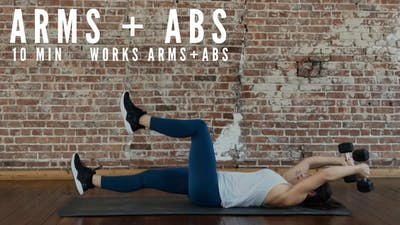 ARMS + ABS 2.0 - EQUIP: DUMBBELLS - LEVEL: INTERMEDIATE by Elise's Bodyshop