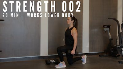 LOWER BODY STRENGTH 1.0 - EQUIP: DUMBBELLS - LEVEL: ADVANCED by Elise's Bodyshop