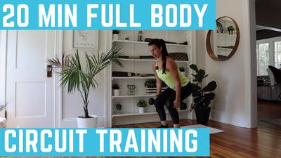 FULL BODY CIRCUIT 11.0 - EQUIP: DUMBBELLS - LEVEL: INTERMEDIATE by Elise's Bodyshop