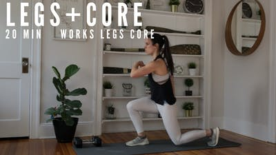 LEGS + CORE 001 - EQUIP: BODYWEIGHT ONLY by Elise's Bodyshop