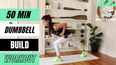 LIVE 50 MIN STRENGTH X HIIT CLASS 9.0 - EQUIP: DUMBBELLS - LEVEL: ADVANCED by Elise's Bodyshop