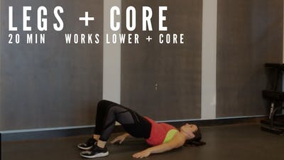 AMRAP LEGS + CORE 1.0 - EQUIP: BODYWEIGHT - LEVEL: INTERMEDIATE by Elise's Bodyshop