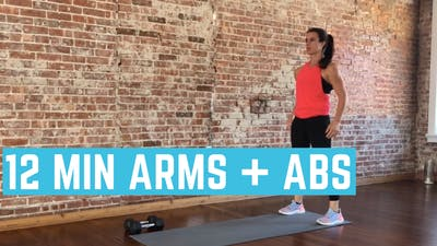ARMS + ABS 1.0 - EQUIP: DUMBBELLS - LEVEL: INTERMEDIATE by Elise's Bodyshop