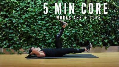 HOLIDAY CORE 5 - EQUIP: BODYWEIGHT ONLY by Elise's Bodyshop