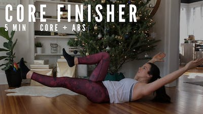 BODYWEIGHT CORE FINISHER 7.0 - LEVEL: MEDIUM by Elise's Bodyshop