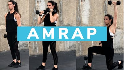 AMRAP FULL BODY 10.0 - EQUIP: DUMBBELLS by Elise's Bodyshop