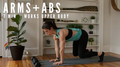 AMRAP ARMS + ABS - EQUIP: BODYWEIGHT - LEVEL: BEGINNER by Elise's Bodyshop