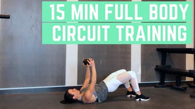 FULL BODY CIRCUIT 7.0 - EQUIP: DUMBBELLS - LEVEL: INTERMEDIATE by Elise's Bodyshop