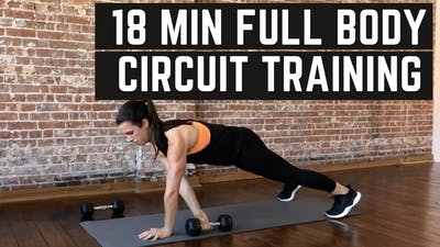 FULL BODY CIRCUIT 6.0 - EQUIP: DUMBBELLS - LEVEL: INTERMEDIATE by Elise's Bodyshop