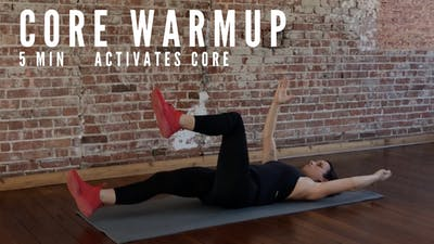 CORE WARMUP - EQUIP: BODYWEIGHT ONLY by Elise's Bodyshop