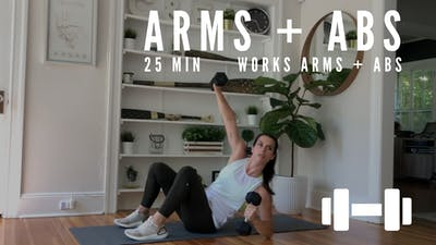 ARMS + ABS 5.0 (PWRD: DAY 12) - EQUIP: DUMBBELLS - LEVEL: ADVANCED by Elise's Bodyshop