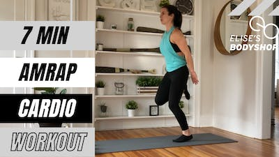 AMRAP CARDIO 1.0 - EQUIP: BODYWEIGHT - LEVEL: BEGINNER by Elise's Bodyshop