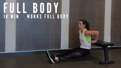 FULL BODY CIRCUIT 5.0 - EQUIP: BENCH + DUMBBELLS - LEVEL: INTERMEDIATE by Elise's Bodyshop