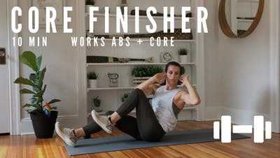 CORE FINISHER 001 - EQUIP: DUMBBELLS by Elise's Bodyshop