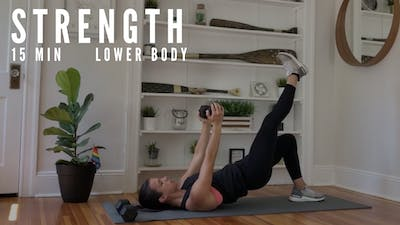 LOWER BODY STRENGTH 3.0 - EQUIP: DUMBBELLS - LEVEL: INTERMEDIATE by Elise's Bodyshop