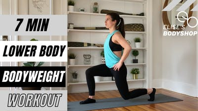 LOWER BODY 2.0 - EQUIP: BODYWEIGHT - LEVEL: BEGINNER by Elise's Bodyshop