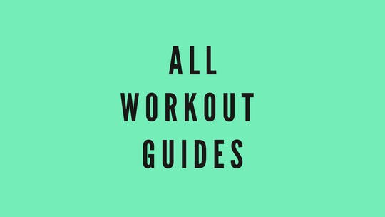 WORKOUT TEMPLATES by Elise's Bodyshop