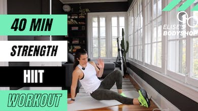 LIVE 40 MIN FULL BODY WORKOUT 2.0 - EQUIP: BODYWEIGHT OPTIONS - LEVEL: INTERMEDIATE by Elise's Bodyshop