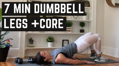 LEGS + CORE 3.0 - EQUIP: DUMBBELL - LEVEL: INTERMEDIATE by Elise's Bodyshop