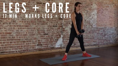 LEGS + CORE CIRCUIT 2.0 - EQUIP: DUMBBELLS - LEVEL: INTERMEDIATE by Elise's Bodyshop