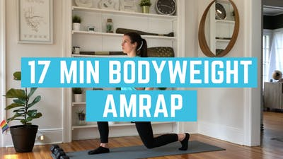 AMRAP FULL BODY 6.0 - EQUIP: BODYWEIGHT - LEVEL: INTERMEDIATE by Elise's Bodyshop
