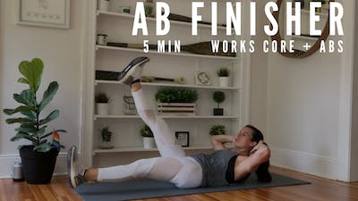 BODYWEIGHT CORE FINISHER 1.0 - LEVEL: INTERMEDIATE by Elise's Bodyshop
